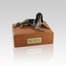 Coonhound Small Dog Urn