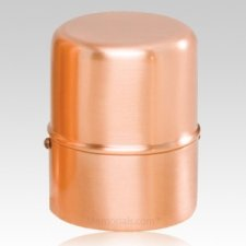 Copper Cylinder Pet Urn