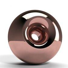 Copper Sphere Pet Urn