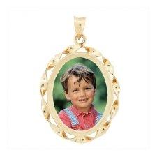 Cordon Yellow Gold Photo Jewelry