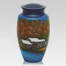 Country Barn Cremation Urn