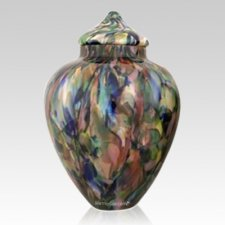 Courtyard Glass Pet Urn