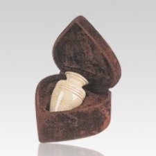 Cream Dove Keepsake Cremation Urn