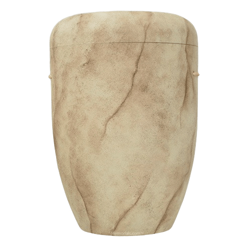 Cream Marble Biodegradable Urn