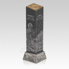 Good Shepherd Cremation Pillar
