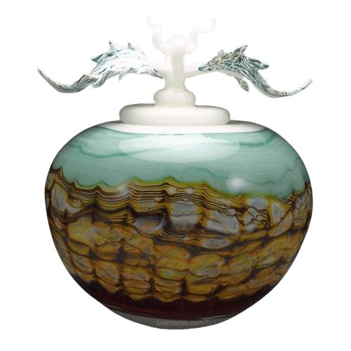 Crest Sargo Art Cremation Urns