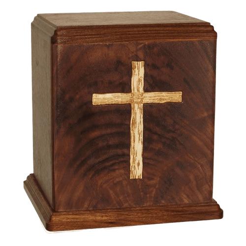 Cross Small Children Cremation Urn