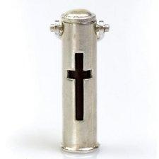 Cross Pet Cremation Keychain Urn