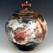 Crow Cremation Urn