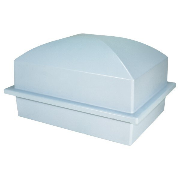 Luxury Blue Cremation Urn Vault