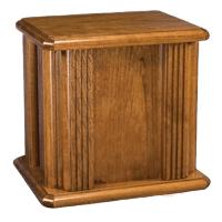 Crucifix Wood Cremation Urn