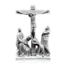 Crucifixion Small Marble Relief