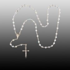 Crystal Cremation Rosary