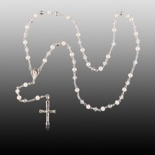 Pearl Cremation Rosaries