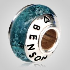 Crystal Waters Cremation Ash Bead