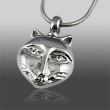 Kitty Cat Cremation Jewelry