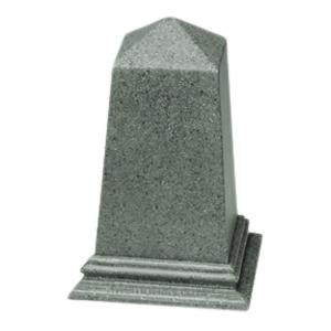 Green Obelisk Pet Urn