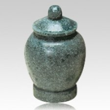 Green Jar Cultured Granite Pet Cremation Urn