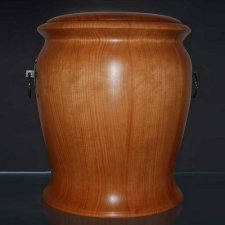 Customs Wood Cremation Urn