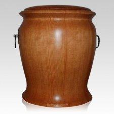 Customs Wood Cremation Urn