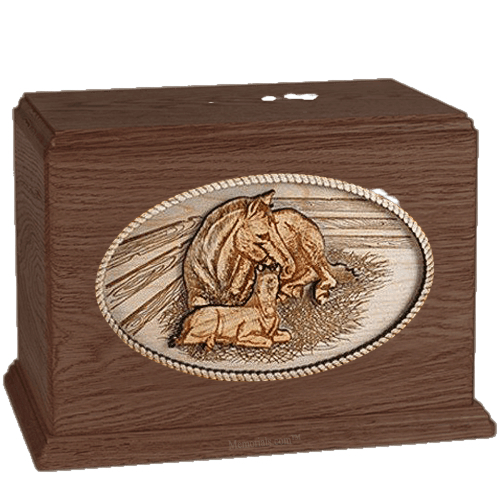 Daddys Love Walnut Companion Urn