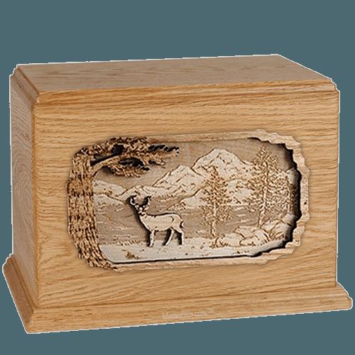 Deer Oak Companion Urn