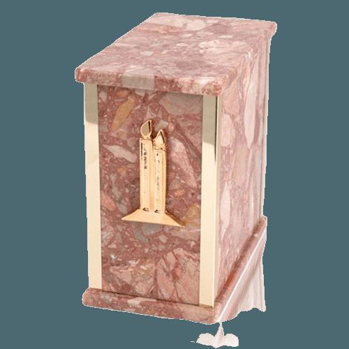 Designer Breccia Pernice Cremation Urns