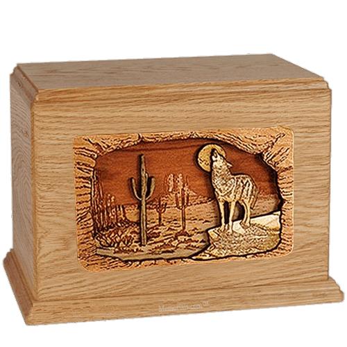 Desert Moon Oak Companion Urn