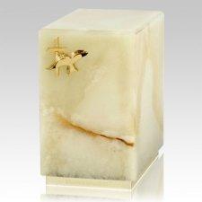 Dignity Mink Onyx Cremation Urn