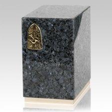 Dignity Blue Pearl Granite Urn