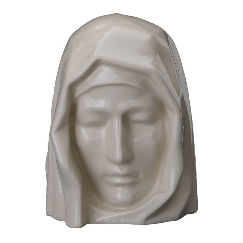 Holy Mother Glossy Cremation Urns
