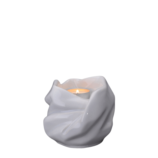 Holy Mother White Keepsake Urn