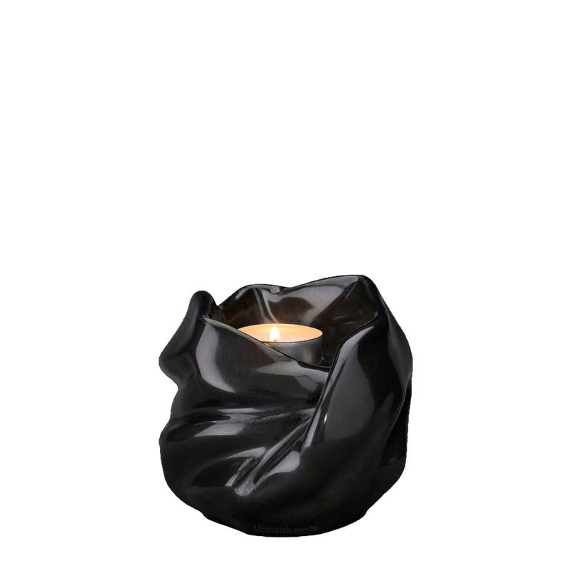 Holy Mother Black Keepsake Urn