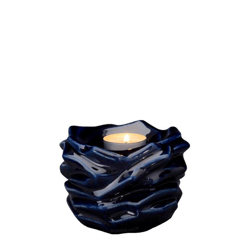 Christ Cobalt Keepsake Urn