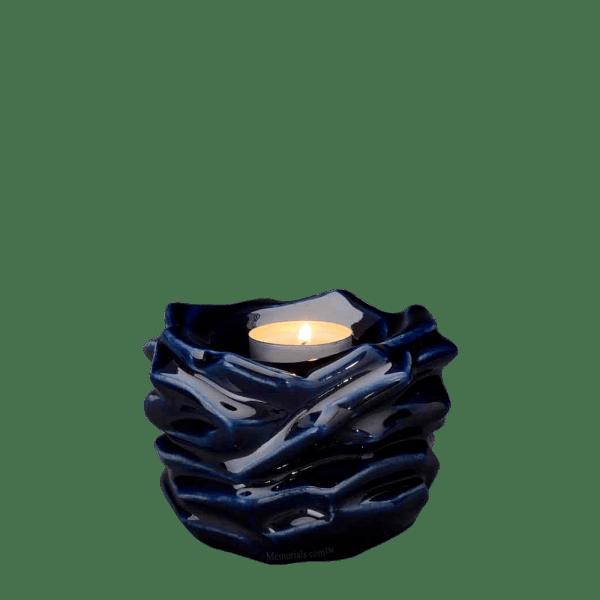 Christ Cobalt Keepsake Urn