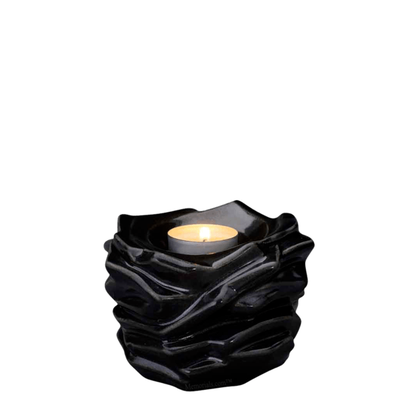 Christ Black Keepsake Urn