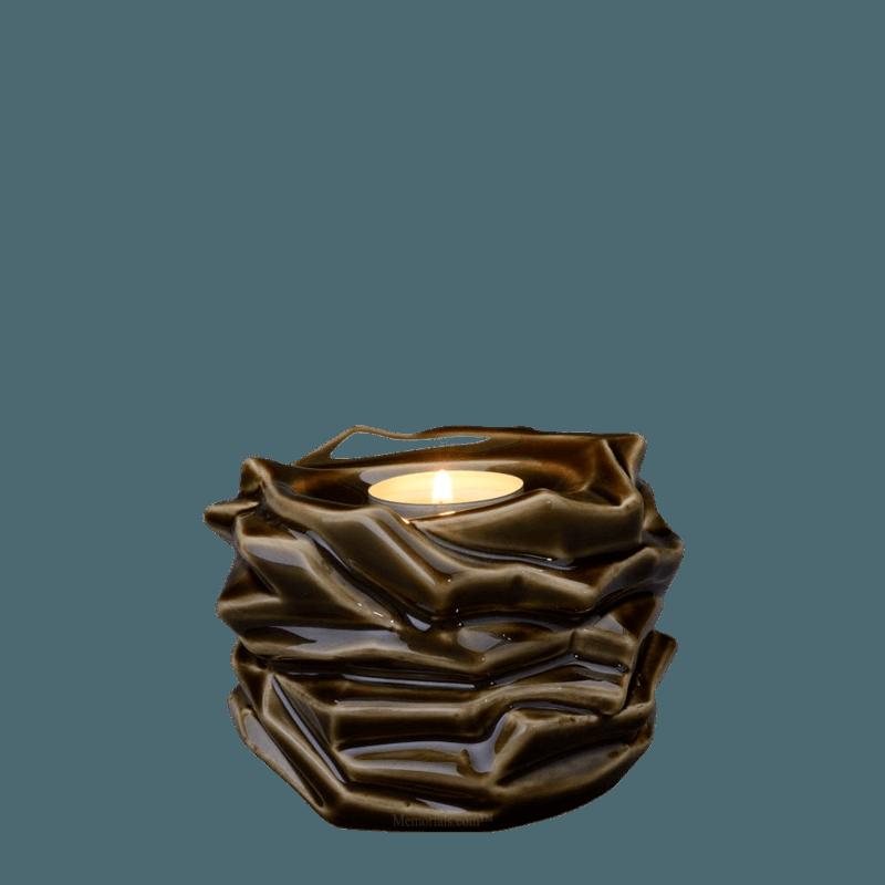 Christ Olive Keepsake Cremation Urn