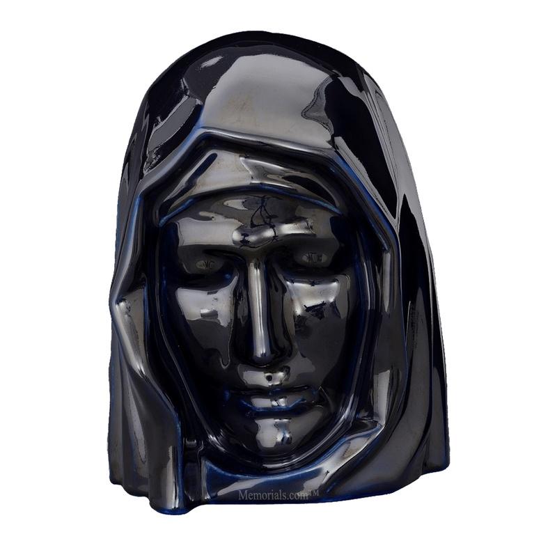 Holy Mother Cobalt Cremation Urns