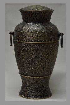 Gilded Cremation Urn