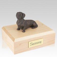 Dachshund Bronze Dog Urns