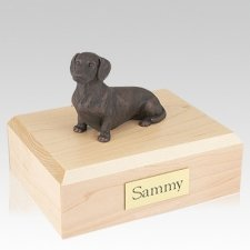 Dachshund Bronze X Large Dog Urn