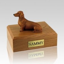 Dachshund Red & Brown Dog Urns