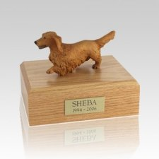 Dachshund Walking Large Dog Urn