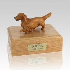 Dachshund Walking X Large Dog Urn