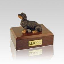Dachshund Wire Haired Small Dog Urn