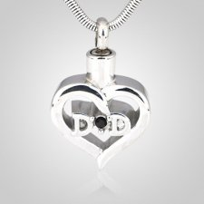 Dad Cremation Necklace
