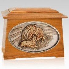 Daddys Love Mahogany Aristocrat Cremation Urn