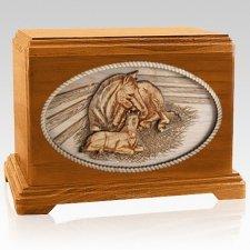 Daddys Love Mahogany Hampton Cremation Urn