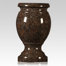 Dakota Mahogany Granite Vase