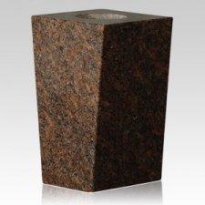 Dakota Mahogany Modern Granite Vase